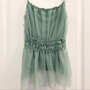 NWT H&M Tulle Tank